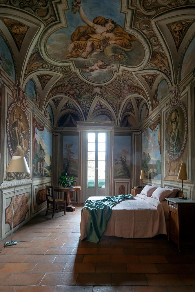 Виллу XVI  века в Ломбардии можно арендовать на Airbnb (фото 9)