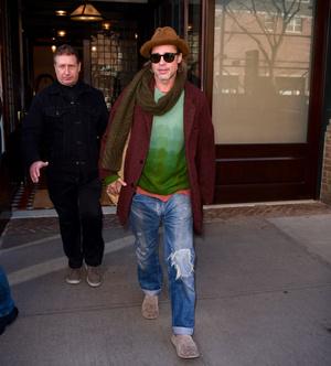 Однажды в ... Нью-Йорке: уроки стиля от Брэда Питта (фото 1.1)