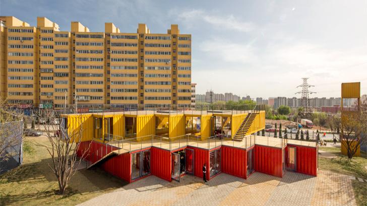Maersk вместо кирпича: дома из грузовых контейнеров (фото 20)