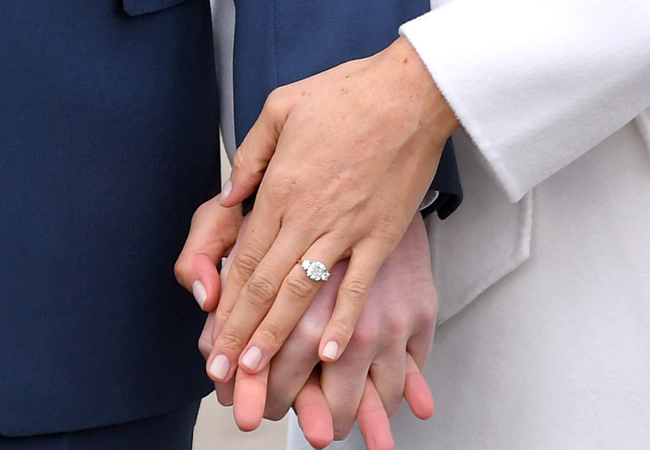 Меган Маркл кольцо фото