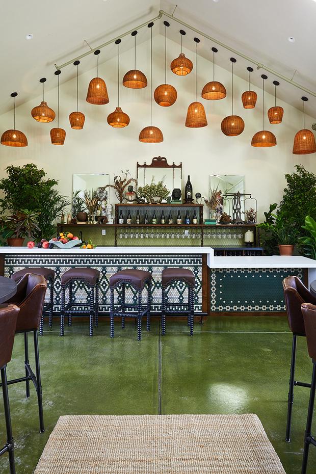 Ресторан при винодельне в Калифорнии (фото 0)