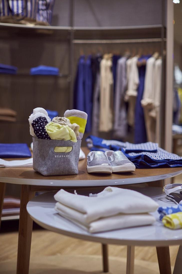 viva, italia: в москве открылся новый бутик stefanel