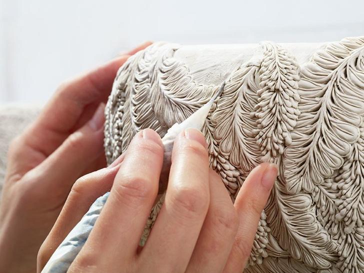 Керамист Хитоми Хосоно: сложная красота растений (фото 6)
