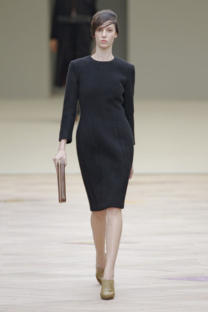 Показы мод Celine Осень-зима 2011-2012 | Подиум на ELLE - Подиум - фото 2135