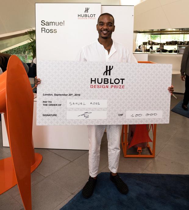 Дизайнер Сюмюэл Росс — лауреат премии Hublot Design Prize (фото 2)