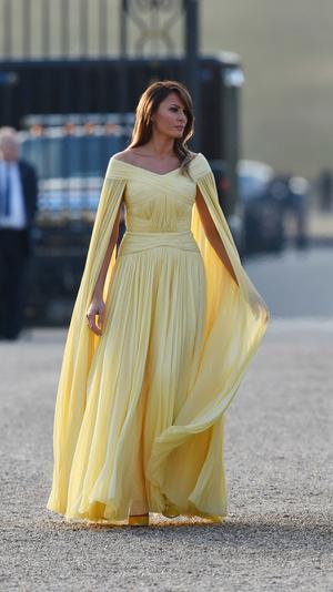 8 примеров того, как Мелания Трамп вдохновляется стилем принцессы Дианы (фото 1)