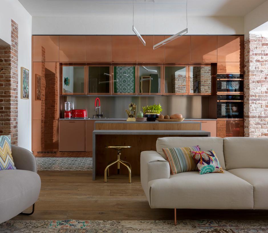 Кухни на даче: 25 интерьеров (галерея 0, фото 5)