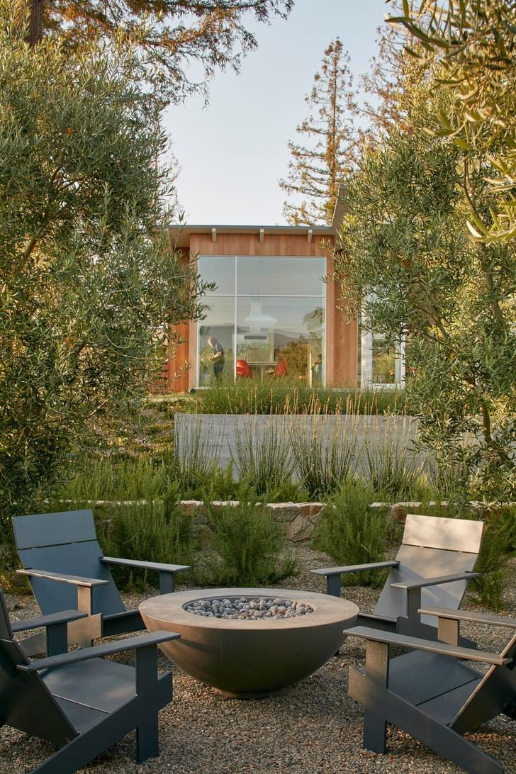 Просторное ранчо на севере Калифорнии по проекту Malcolm Davis Architecture (фото 16)