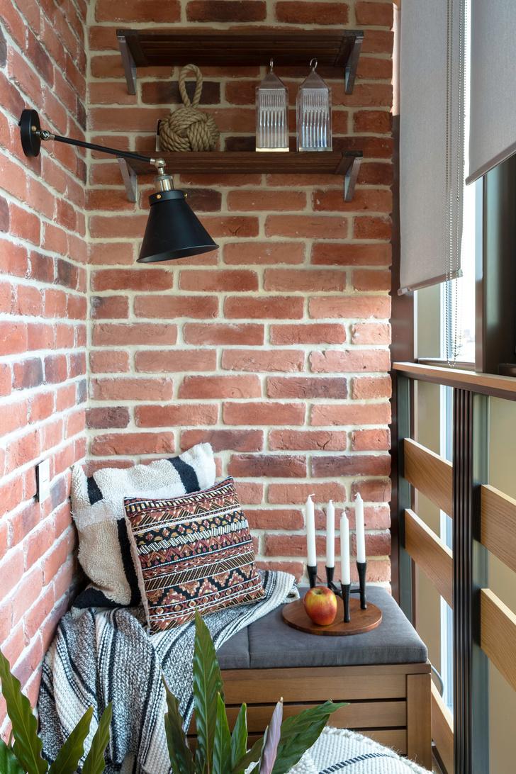 Современная квартира 75 м² для молодой девушки (фото 15)