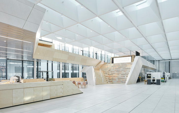 Новое здание штаб-квартиры Swarovski от студии Snøhetta (фото 0)
