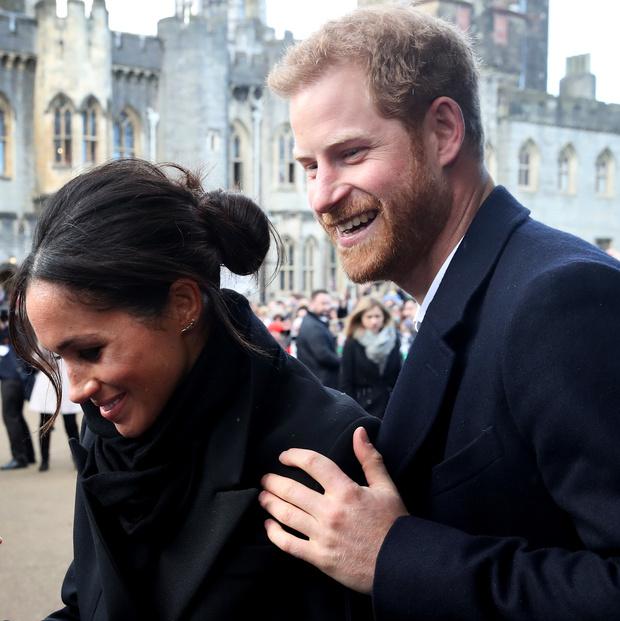 Новый выход принц Гарри и Меган Маркл (фото 6)