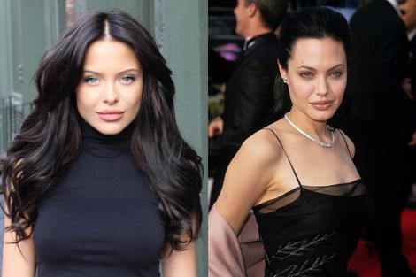 В Instagram нашелся новый двойник Анджелины Джоли | галерея [1] фото [1]