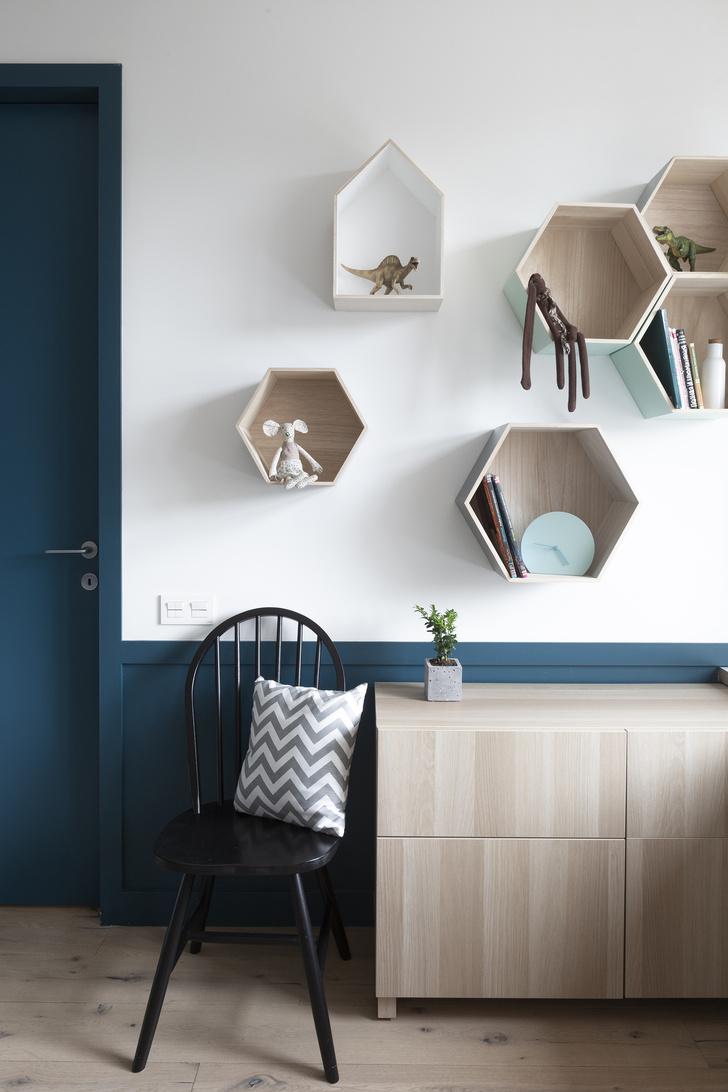 Квартира 150 м²: нескучный проект в скандинавском стиле (фото 12)