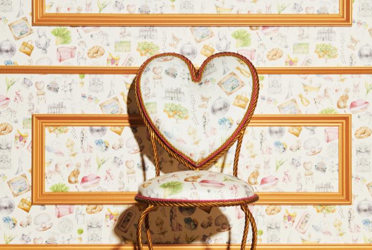 Новая коллекция обоев и текстиля Саши Бикофф (фото 6)
