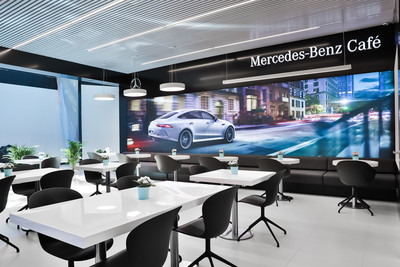 В «Шереметьево» появилось кафе Mercedes-Benz Café (галерея 1, фото 1)