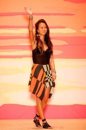 Показ Jen Kao коллекции сезона Весна-лето 2012 года prêt-à-porter - www.elle.ru - Подиум - фото 293810