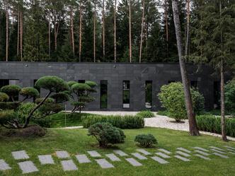 Современный дом  4500 м² с красивым садом на Новой Риге: проект бюро Woodstone (фото 7.1)