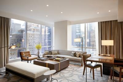 Высокая планка: дизайнерский отель PARK HYATT NEW YORK с уклоном в арт (галерея 4, фото 3)