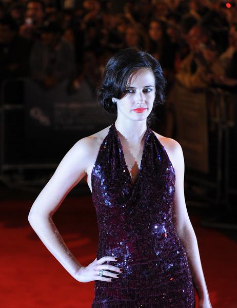 Ева Грин на красной дорожке премии Prix Montblanc 2009