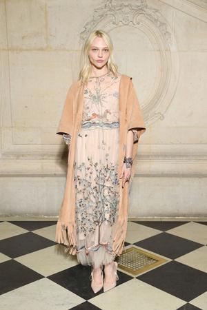 Гости на показе Dior Haute Couture в Музее Родена (фото 5)