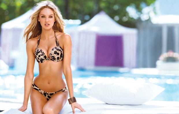 Девушка мечты: 15 роскошных фото Кэндис Свейнпол в купальниках