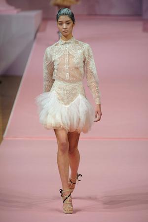 Показы мод Alexis Mabille Весна-лето 2013 | Подиум на ELLE - Подиум - фото 961
