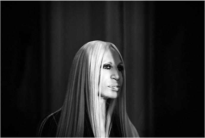 Донателла Версаче, Versace, бутик, Москва, открытие,