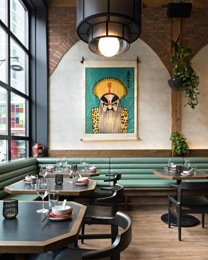 Ресторан в духе Шанхая 1920-х от студии  Sarah Ward Interiors (фото 2)