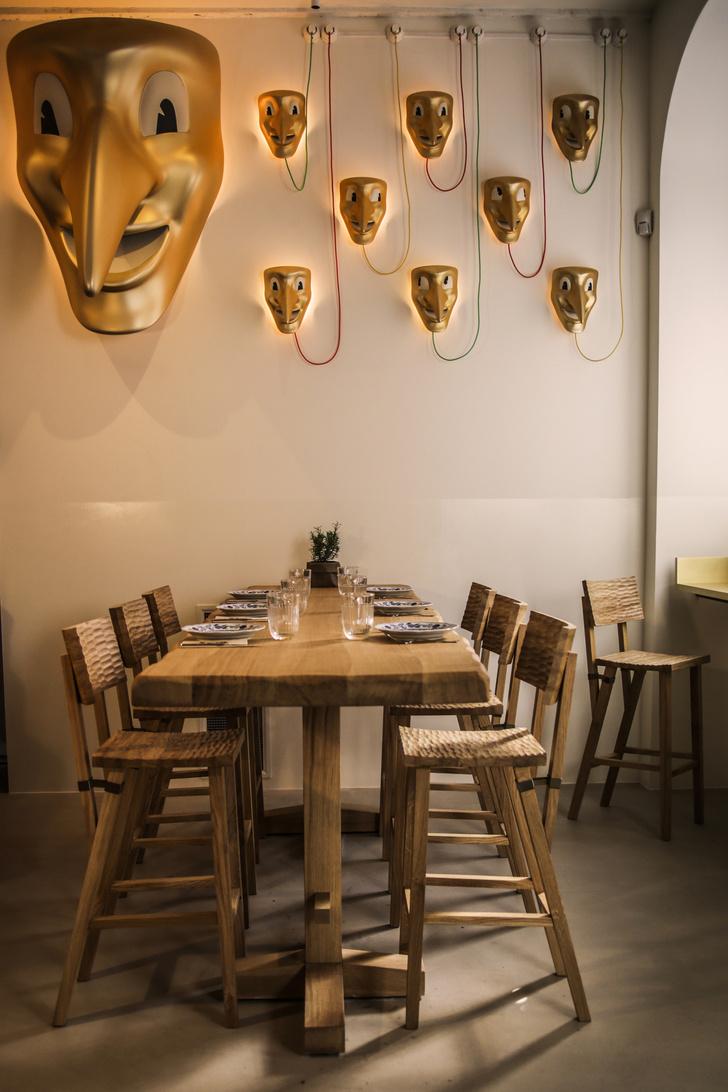 Новое кафе по проекту Филиппа Старка и Alajmo Group (фото 3)
