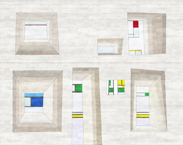 Архитектурные ковры Марии Романовой (фото 9)