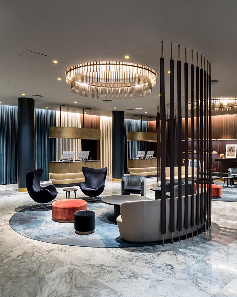 В Копенгагене отремонтировали отель по проекту Арне Якобсена (галерея 4, фото 0)