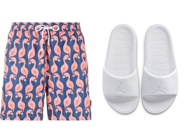 Самое летнее сочетание: шорты + слайдеры (фото 8)