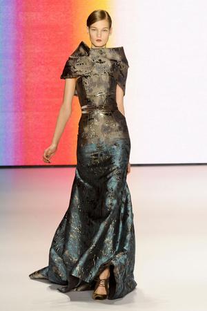 Показы мод Carolina Herrera Осень-зима 2011-2012 | Подиум на ELLE - Подиум - фото 2378
