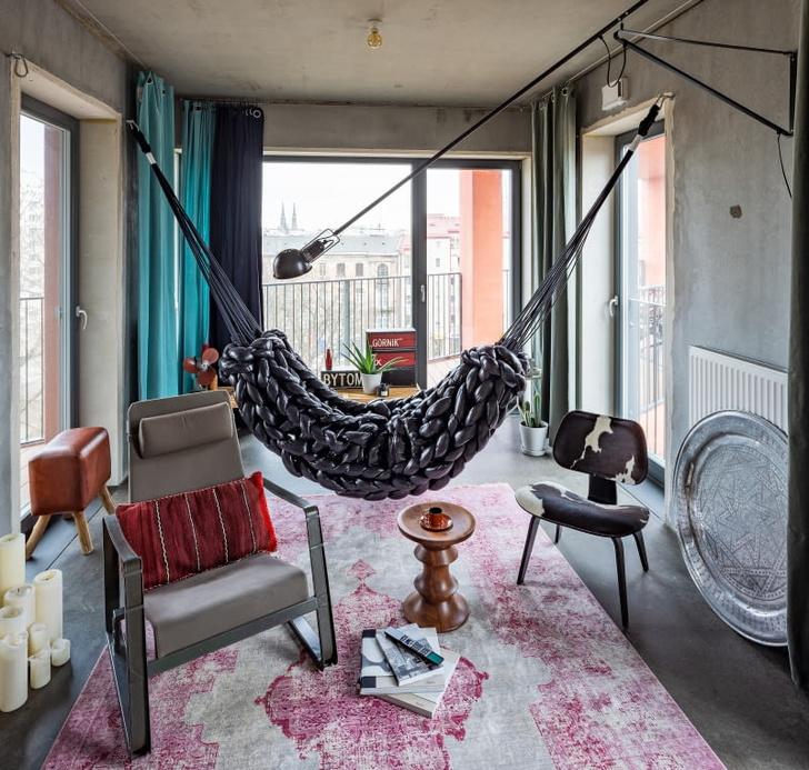 Бетонная квартира 55 м² архитектора Пшемо Лукашика в Варшаве (фото 0)