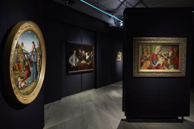 Открытие выставки западноевропейской живописи XIV-XVIII веков (галерея 1, фото 14)
