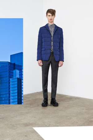 Показы мод DKNY Man Осень-зима 2014-2015 | Подиум на ELLE - Подиум - фото 3806