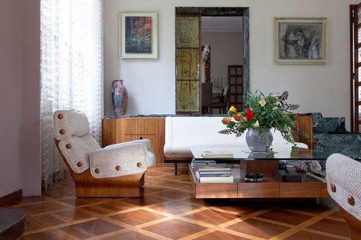 Дом-легенда: вилла Освальдо Борсани в Италии (фото 9)