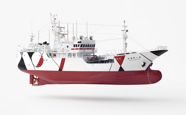 Рыболовное судно по дизайну студии Nendo (фото 3)