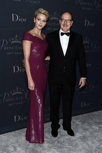 Князь Альбер и княгиня Шарлен на Princess Grace Awards в Лос-Анджелесе фото [4]