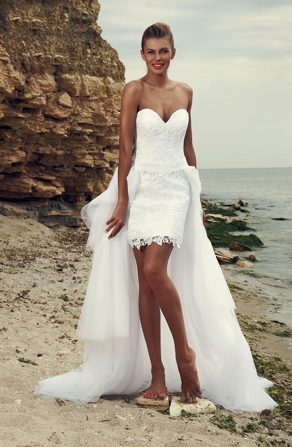 Секси платье свадебное