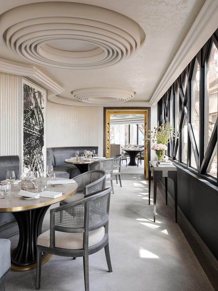 Возвращение легенды: ресторан  Le Jules Vernе на Эйфелевой башне (фото 12)