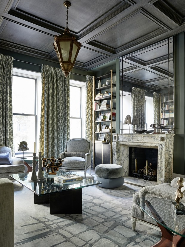 Дом на Манхэттене по дизайну Жан-Луи Деньо (фото 10)