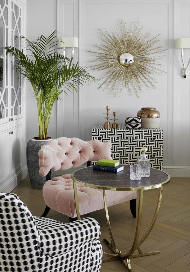 Розовый цвет в интерьере: как использовать и с чем сочетать (фото 27)