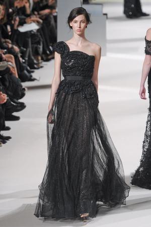 Показ Elie Saab коллекции сезона Весна-лето 2011 года Haute couture - www.elle.ru - Подиум - фото 216818