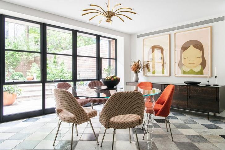 Классический интерьер дома в Бруклине (фото 7)