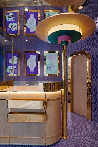 Фиолетовый суши-бар Kento в Валенсии (фото 3.1)