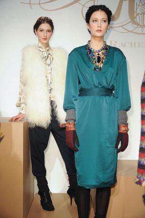 Показы мод Rachel Roy Осень-зима 2011-2012 | Подиум на ELLE - Подиум - фото 2338