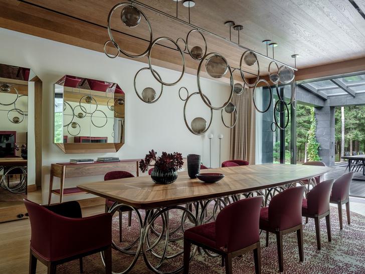 Современный дом  4500 м² с красивым садом на Новой Риге: проект бюро Woodstone (фото 14)