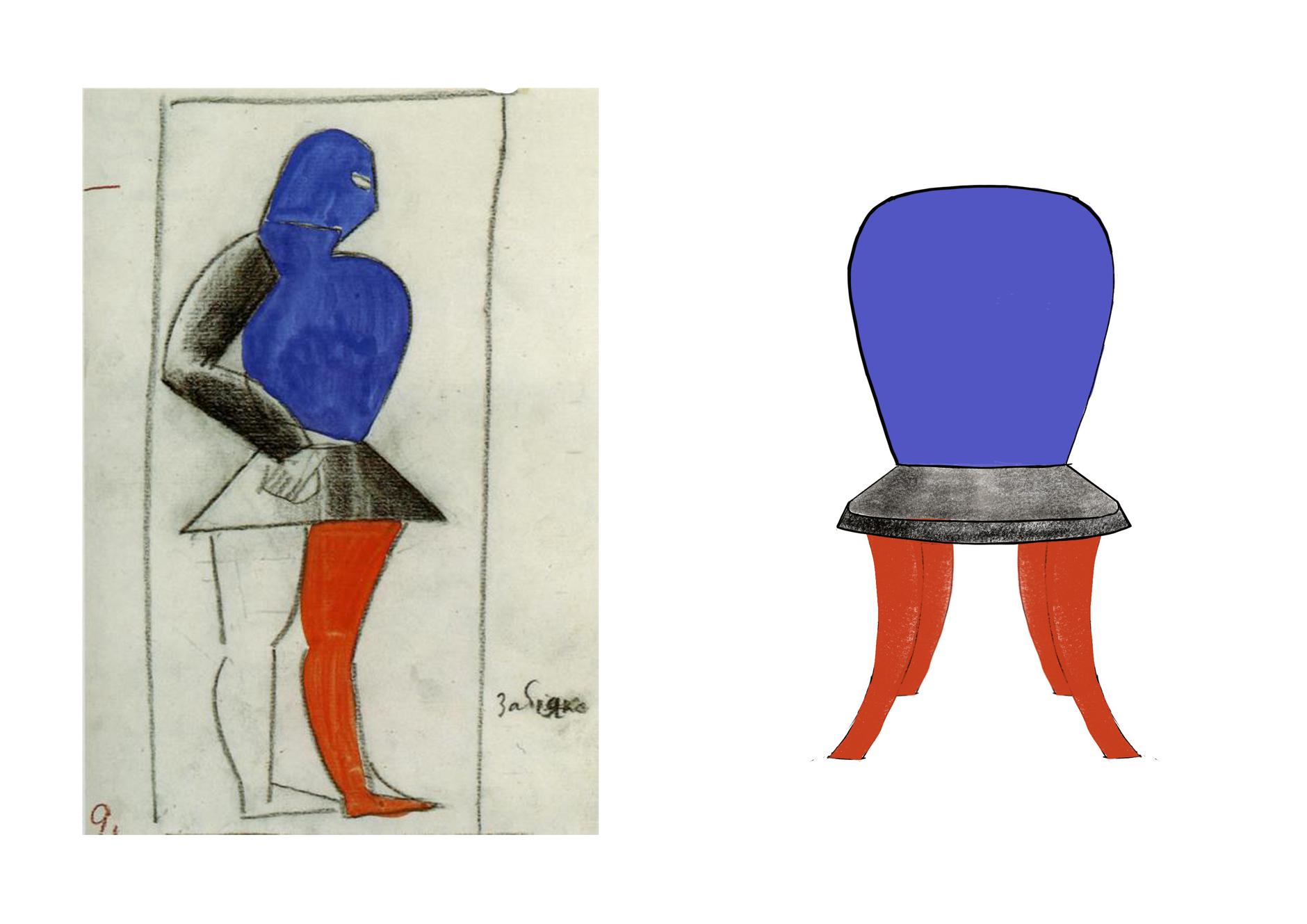 Стулья Анны Титовой по эскизам Казимира Малевича (галерея 6, фото 5)
