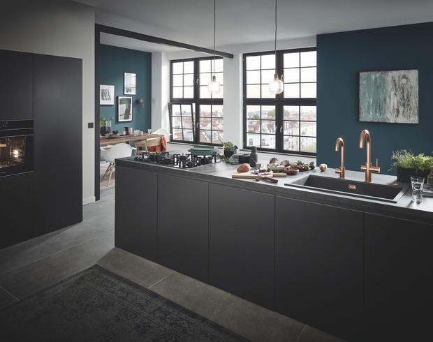 «Умная» кухня: смесители, упрощающие жизнь (фото 1)
